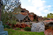 Wdw Prints - Splash Mountain Print by Carol  Bradley - Double B Photography