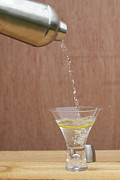 Lemon Art Posters - Splash of Martini Poster by Kay Pickens