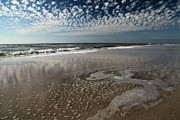 Florida Panhandle Prints - Splattered Clouds Print by Adam Jewell