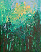Abstract Expressionist Metal Prints - Splendid Day Metal Print by Donna Blackhall