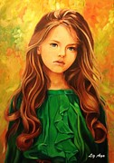 Splendor Paintings - Splendor in Youth by Liz Aya