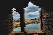 Fort Jefferson Metal Prints - Split Vision Metal Print by Adam Jewell