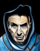Spock Paintings - Spock by James Kruse