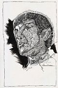 Spock Drawings Framed Prints - Spock Framed Print by Jerrett Dornbusch