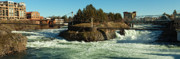 Spokane Photo Prints - Spokane Falls - Spokane Washington Print by Reflective Moments  Photography and Digital Art Images