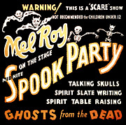 Fantasy Metal Prints - Spook Party 2 Metal Print by The  Vault - Jennifer Rondinelli Reilly