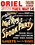 Fantasy Metal Prints - Spook Party Metal Print by The  Vault - Jennifer Rondinelli Reilly