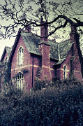 Spooky House Print by Joana Kruse