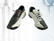 Shoe Digital Art Originals - Sports and dress shoes.  by Deyan Georgiev