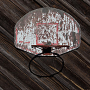 Backboard Prints - Sports - Basketball Hoop Print by Art Block Collections