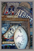 Patriots Framed Prints - Sports Fan Framed Print by Jack Gannon