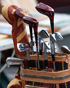 Golf Clubs Prints - Sports - Golf Print by Art Block Collections