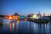 House Digital Art Originals - Sportsman Marina by Michael Thomas