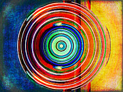 Spinning Digital Art - Spot On by Wendy J St Christopher