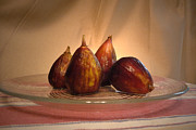Figs Prints - Spotlight on Figs Print by Margie Avellino