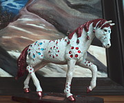 Anne-Elizabeth Whiteway - Spotted Sparkling Painted Pony