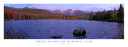 Colorado Art - Sprague Lake Rocky Mountain National Park by Posters of Colorado