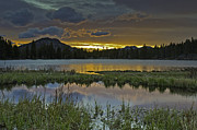 Tom Wilbert - Sprague Lake Sunrise