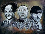 Hollywood Legends Painting Originals - Spread Out by Jeremy Moore