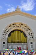 Spreckles Organ San Diego Print by Christine Till