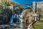 Westchester County Posters - Spring Afternoon at the Croton Gorge Dam Poster by David Hahn