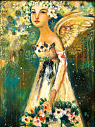 Angel Art - Spring Angel  by Shijun Munns