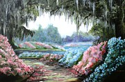 Graves Paintings - Spring at Middleton Plantation by Lisa Graves