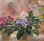 Spring At My Window Print by Victoria Kharchenko