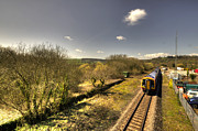 Sprinter Art - Spring at Seaton Junction  by Rob Hawkins