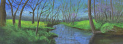 Waterscape Pastels Metal Prints - Spring Awakening II Metal Print by Garry McMichael