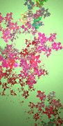 Most Popular Digital Art - Spring Bouquet  by Tatjana Popovska