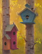 Karen Whitworth - Spring Chickadees 2 -...