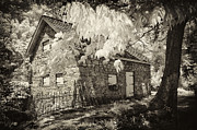 Grist Mill Prints - Spring Creek Mill Print by Paul W Faust -  Impressions of Light