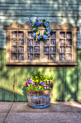 Wooden Building Prints - Spring Delight Print by Heidi Smith