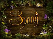 Mythja  Photography - Spring design - Flower wreath