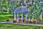 Fed Digital Art Prints - Spring Fed - White Sulphur Springs Print by Dan Stone