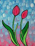 Framed Prints Painting Originals - Spring Fling by Sharon Cummings