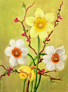 Spring Flowers 2 Print by Randy Burns