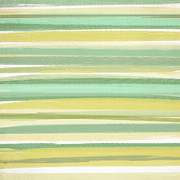 Spring Green Print by Lourry Legarde