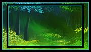 Spring Green Print by Steven Lebron Langston