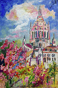 Ginette Callaway - Spring in Normandy France Basilica of St. Therese of Lisieux