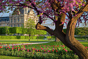 Tuileries Posters - Spring in Paris Poster by Brian Jannsen