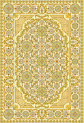 Concept Tapestries - Textiles - Spring in yellow by Palade Marian