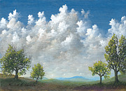 Cloudscapes Posters - Spring Poster by Kenneth Stockton