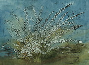 Cotton Muslin Art - Spring  by Kristine Allphin