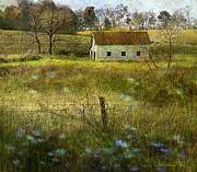 R christopher Vest - Spring Meadow And Barn