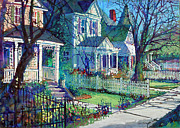 Dan Nelson - Spring Morning on East...