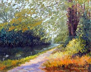 Kit Dalton - Spring Morning Towpath