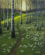 Spring Path Print by Veikko Suikkanen