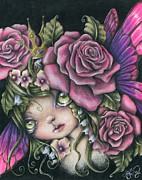 Whimsy Mixed Media - Spring Queen by Sour Taffy